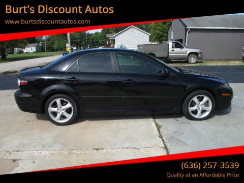 2008 Mazda MAZDA6 for sale at Burt's Discount Autos in Pacific MO