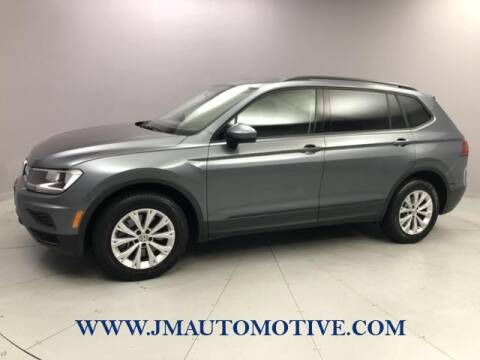 2018 Volkswagen Tiguan for sale at J & M Automotive in Naugatuck CT