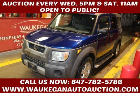 2004 Honda Element for sale at Waukegan Auto Auction in Waukegan IL