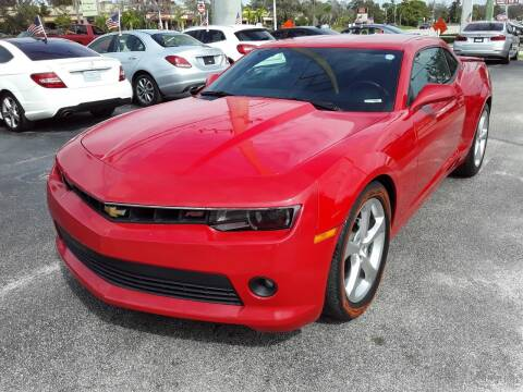 2015 Chevrolet Camaro for sale at YOUR BEST DRIVE in Oakland Park FL