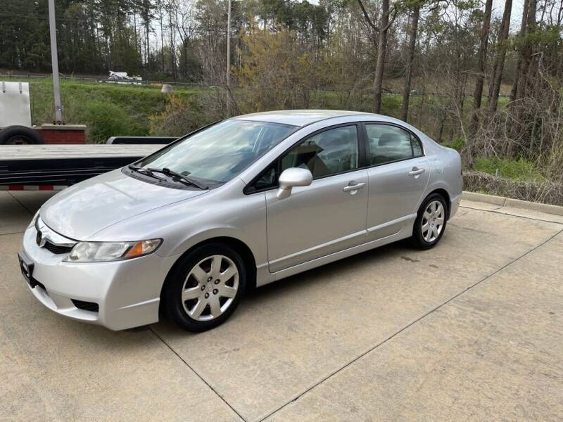 2011 Honda Civic for sale at A&Q Auto Sales in Gainesville GA