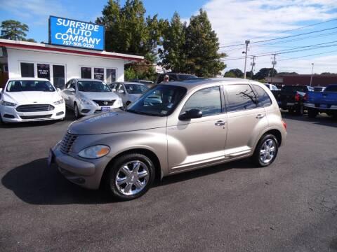 2003 Chrysler PT Cruiser for sale at Surfside Auto Company in Norfolk VA