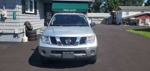 2007 Nissan Frontier for sale at MGM Auto Sales in Cortland NY