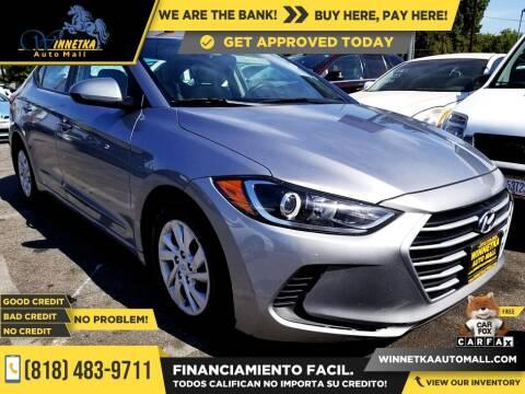 2017 Hyundai Elantra for sale at Winnetka Auto Mall in Winnetka CA