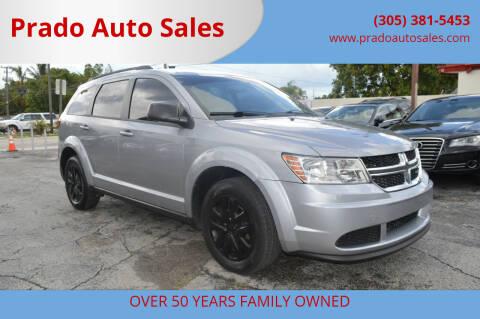 2016 Dodge Journey for sale at Prado Auto Sales in Miami FL