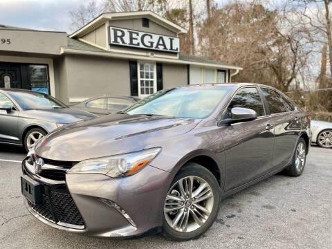 2017 Toyota Camry for sale at Regal Auto Sales in Marietta GA