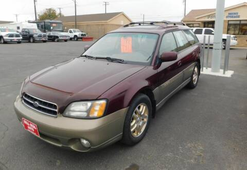 2000 Subaru Outback for sale at Will Deal Auto & Rv Sales in Great Falls MT