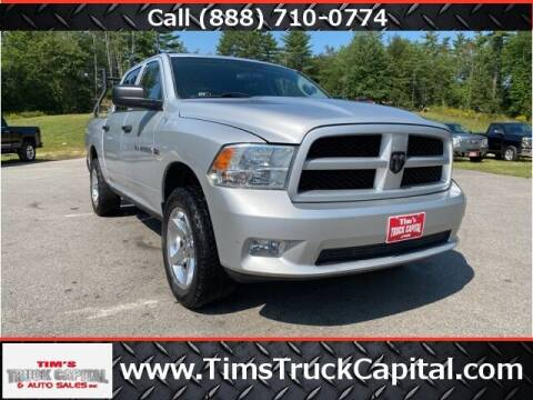2012 RAM Ram Pickup 1500 for sale at TTC AUTO OUTLET/TIM'S TRUCK CAPITAL & AUTO SALES INC ANNEX in Epsom NH