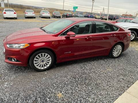 2013 Ford Fusion Hybrid for sale at Tri-Star Motors Inc in Martinsburg WV