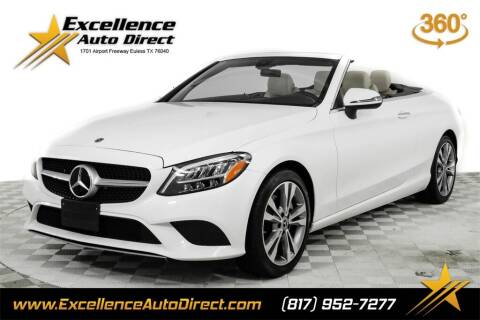 2020 Mercedes-Benz C-Class for sale at Excellence Auto Direct in Euless TX