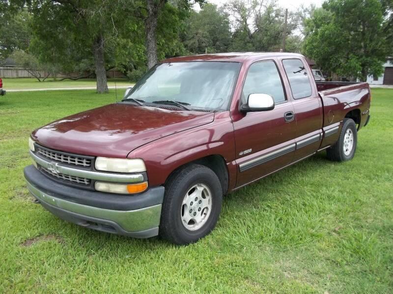 2002 Chevrolet Silverado 1500 for sale at Hartman's Auto Sales in Victoria TX