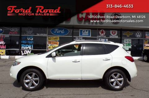 2010 Nissan Murano for sale at Ford Road Motor Sales in Dearborn MI
