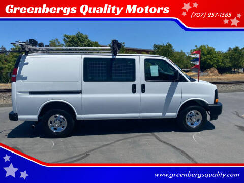 2017 Chevrolet Express Cargo for sale at Greenbergs Quality Motors in Napa CA
