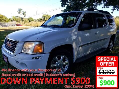 2004 GMC Envoy XL for sale at AUTO COLLECTION OF SOUTH MIAMI in Miami FL