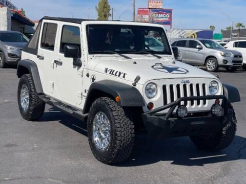 2008 Jeep Wrangler Unlimited for sale at Curry's Cars Powered by Autohouse - Brown & Brown Wholesale in Mesa AZ