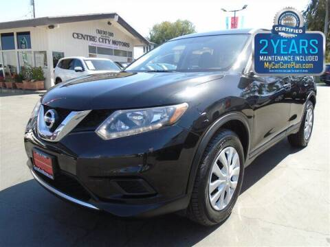 2016 Nissan Rogue for sale at Centre City Motors in Escondido CA