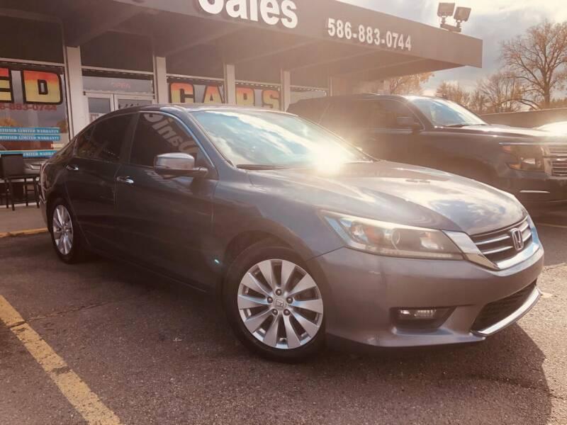 2014 Honda Accord for sale at Daniel Auto Sales inc in Clinton Township MI