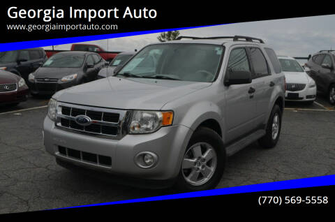 2009 Ford Escape for sale at Georgia Import Auto in Alpharetta GA