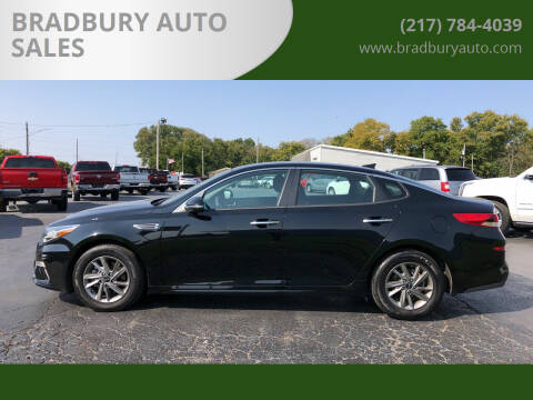2020 Kia Optima for sale at BRADBURY AUTO SALES in Gibson City IL