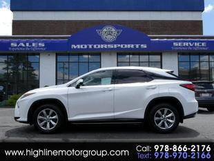 2018 Lexus RX 350 for sale at Highline Group Motorsports in Lowell MA