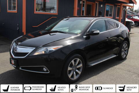 2013 Acura ZDX for sale at Sabeti Motors in Tacoma WA