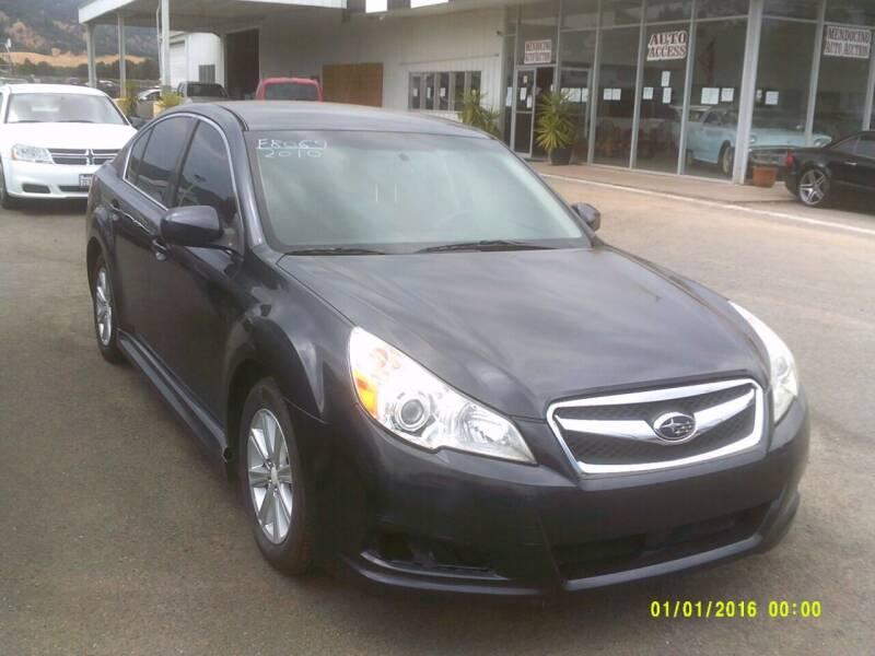 2010 Subaru Legacy for sale at Mendocino Auto Auction in Ukiah CA