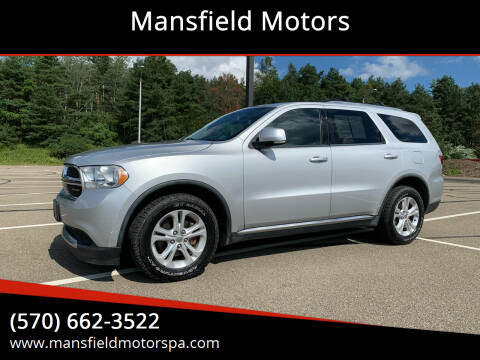 2011 Dodge Durango for sale at Mansfield Motors in Mansfield PA