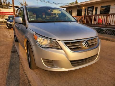 2011 Volkswagen Routan for sale at Zora Motors in Houston TX