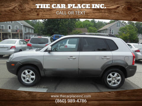 2005 Hyundai Tucson for sale at THE CAR PLACE INC. in Somersville CT