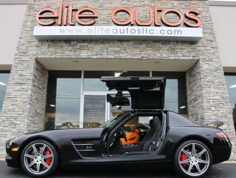 2012 Mercedes-Benz SLS AMG for sale at Elite Autos LLC in Jonesboro AR