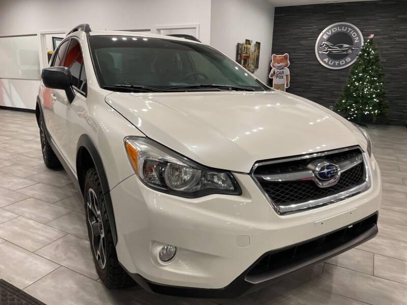 2015 Subaru XV Crosstrek for sale at Evolution Autos in Whiteland IN