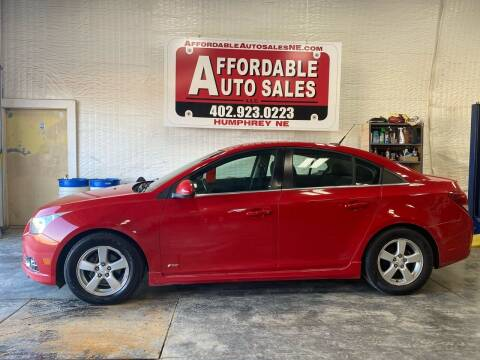 2012 Chevrolet Cruze for sale at Affordable Auto Sales in Humphrey NE
