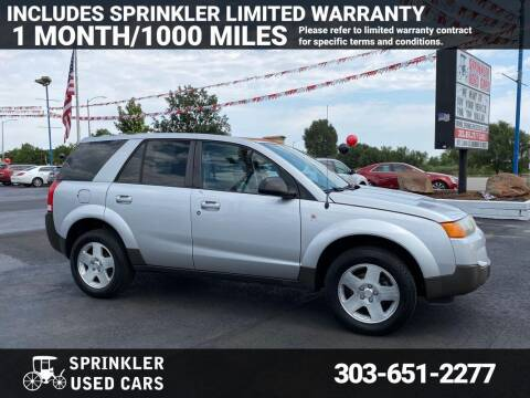 2004 Saturn Vue for sale at Sprinkler Used Cars in Longmont CO