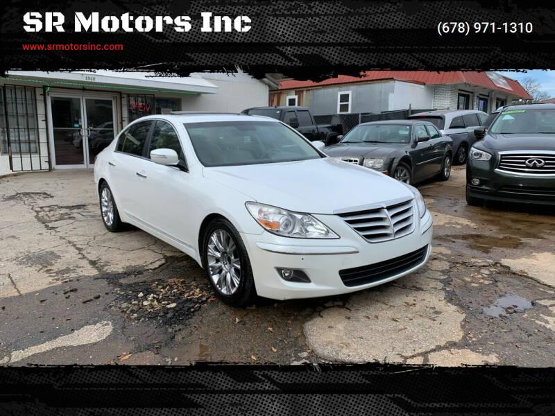 2011 Hyundai Genesis for sale at SR Motors Inc in Gainesville GA