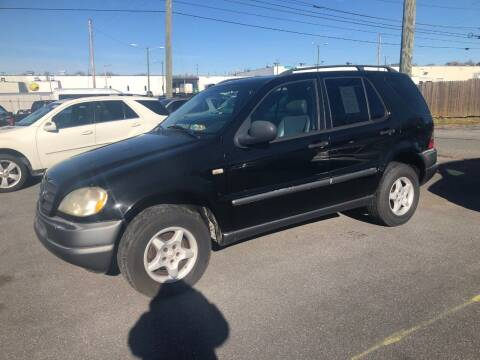 1999 Mercedes-Benz ML350 for sale at Boris Auto Sales & Repairs in Harrisonburg VA