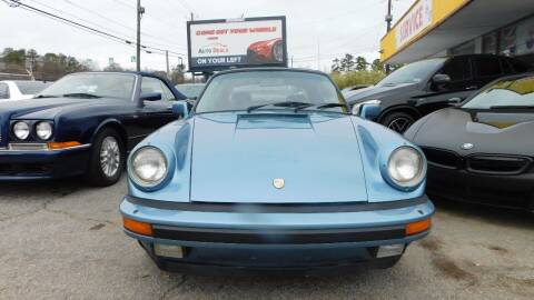 1986 Porsche 911 for sale at Atlanta Fine Cars in Jonesboro GA