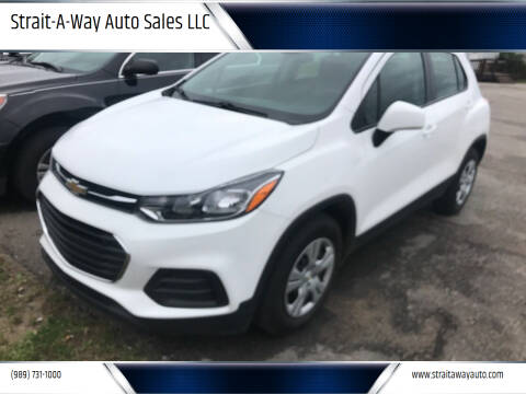 2018 Chevrolet Trax for sale at Strait-A-Way Auto Sales LLC in Gaylord MI