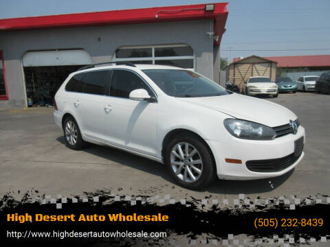 2012 Volkswagen Jetta for sale at High Desert Auto Wholesale in Albuquerque NM