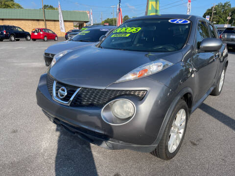 2014 Nissan JUKE for sale at Cars for Less in Phenix City AL