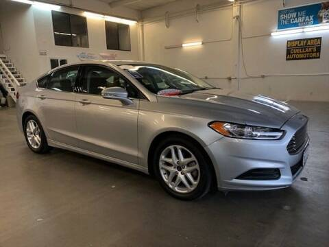 2015 Ford Fusion for sale at Cuellars Automotive in Sacramento CA