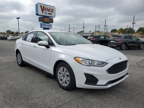 2020 Ford Fusion for sale at Vance Fleet Services in Guthrie OK