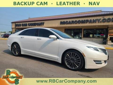 2015 Lincoln MKZ Hybrid for sale at R & B Car Company in South Bend IN