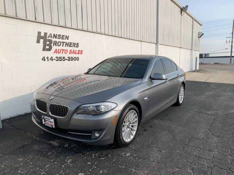 2011 BMW 5 Series for sale at HANSEN BROTHERS AUTO SALES in Milwaukee WI