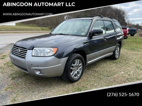 2008 Subaru Forester for sale at ABINGDON AUTOMART LLC in Abingdon VA