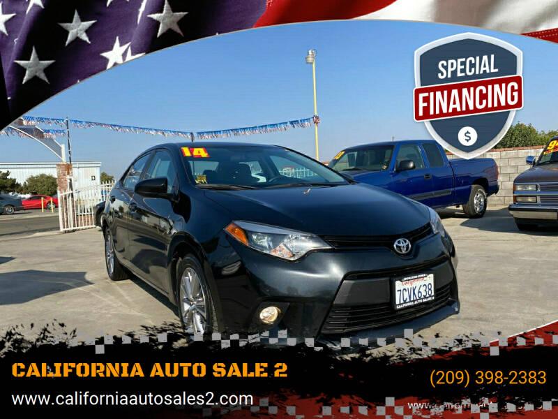 2014 Toyota Corolla for sale at CALIFORNIA AUTO SALE 2 in Livingston CA