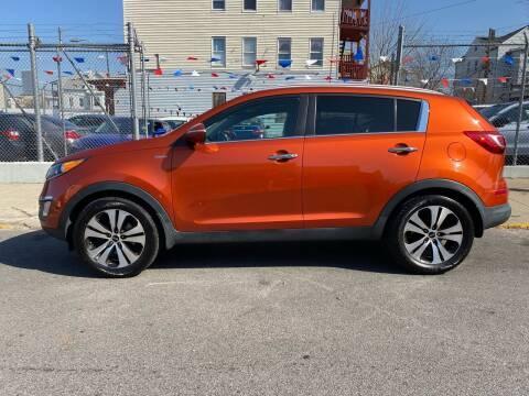 2013 Kia Sportage for sale at G1 Auto Sales in Paterson NJ