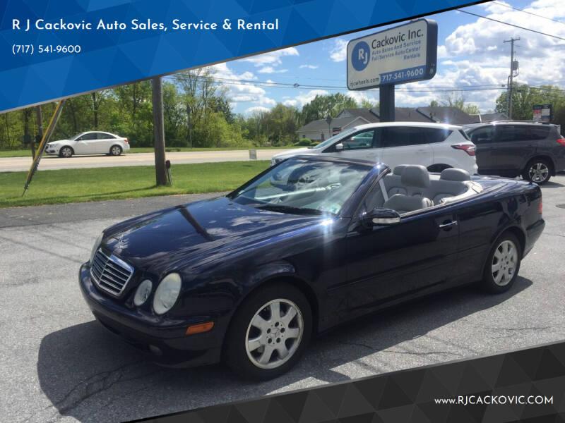 2001 Mercedes-Benz CLK for sale in Harrisburg, PA