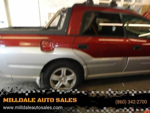 2003 Subaru Baja for sale at MILLDALE AUTO SALES in Portland CT