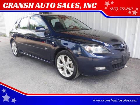 2008 Mazda MAZDA3 for sale at CRANSH AUTO SALES, INC in Arlington TX