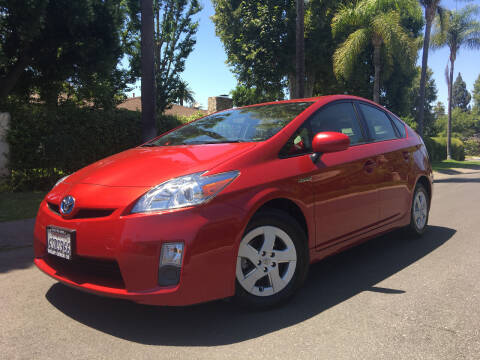 2011 Toyota Prius for sale at Valley Coach Co Sales & Lsng in Van Nuys CA